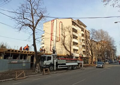Belladona 7 03.02.2020 betoniranje ploce iznad lokala
