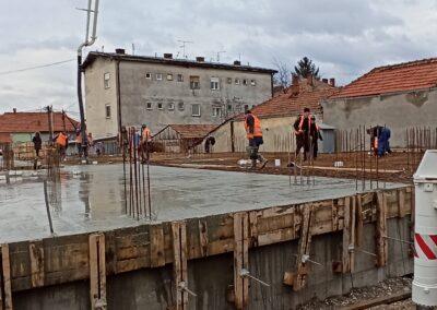 Betoniranje ploce iznad suturena